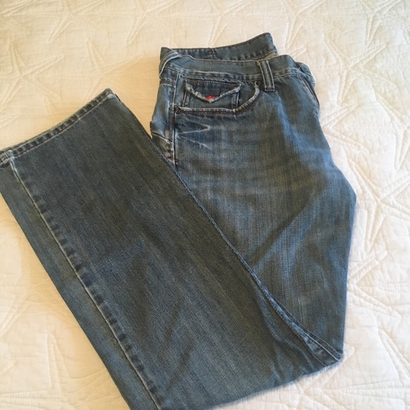 Lost Other - LOST Distressed denim long pants.
